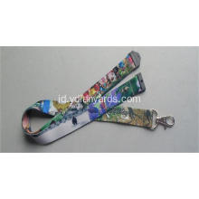 Desainer Polyester Necklace Lanyard
